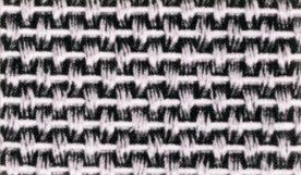 縦撚線平織